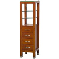 Tavello Wood Bathroom Cabinet - Cherry by Wyndham Collection WC-K-W045-CH