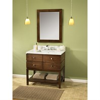 "Fairmont Designs Windwood 36"" Vanity - Natural Walnut 111-VH36"
