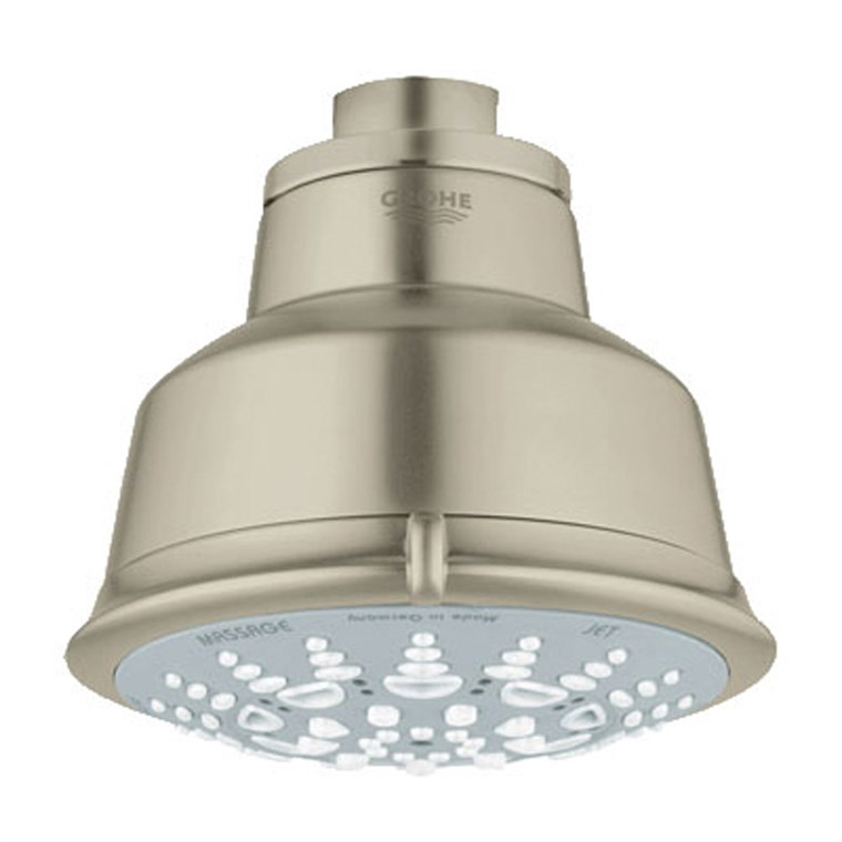 Grohe Relexa Rustic 100 Five-Sprays Head Shower - Brushed Nickel Infinity GRO 27126EN1