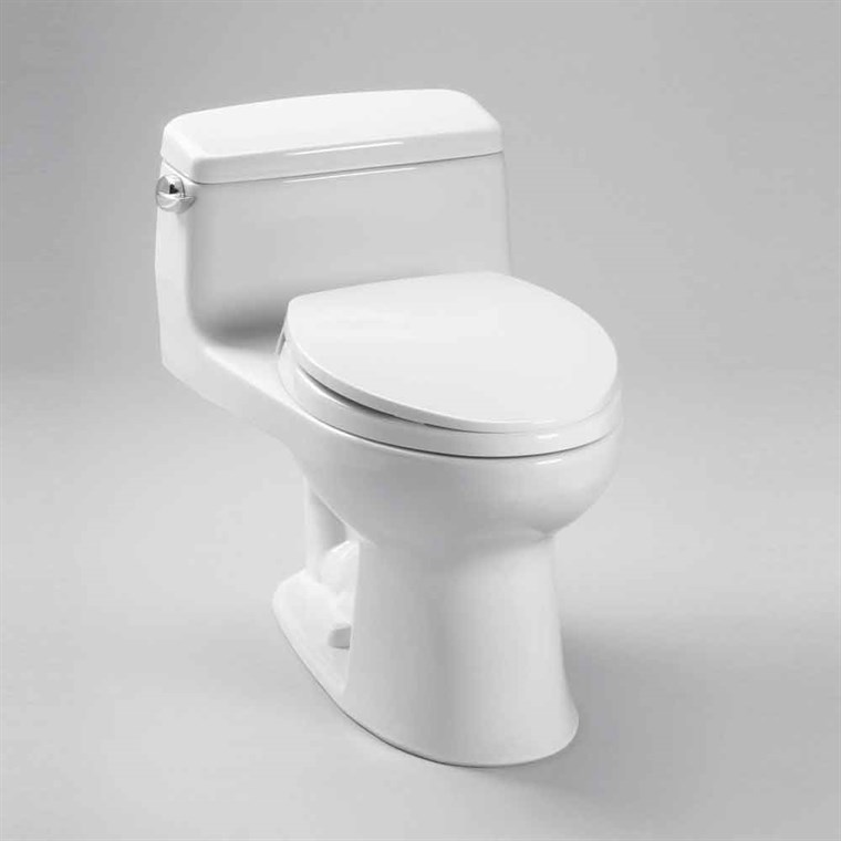 TOTO Eco Supreme® Transitional One-Piece Round Toilet, 1.28 GPF - SoftClose Seat Included MS863113E