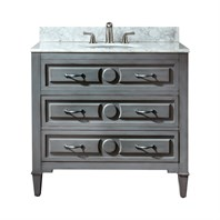 "Avanity Kelly 36"" Bathroom Vanity - Grayish Blue KELLY-36-GB"