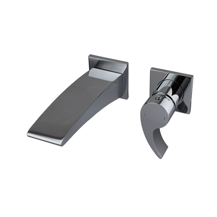 fluid Sublime - Single Lever Wall Mount Lavatory Faucet Trim Set F13008T