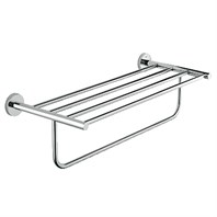 "Grohe Essentials Multi-towel Rack, 24"" - Chrome GRO 40462000"