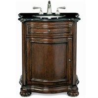 "Cole & Co. 30"" Premier Collection Verona Hall Chest - Aged Chestnut"