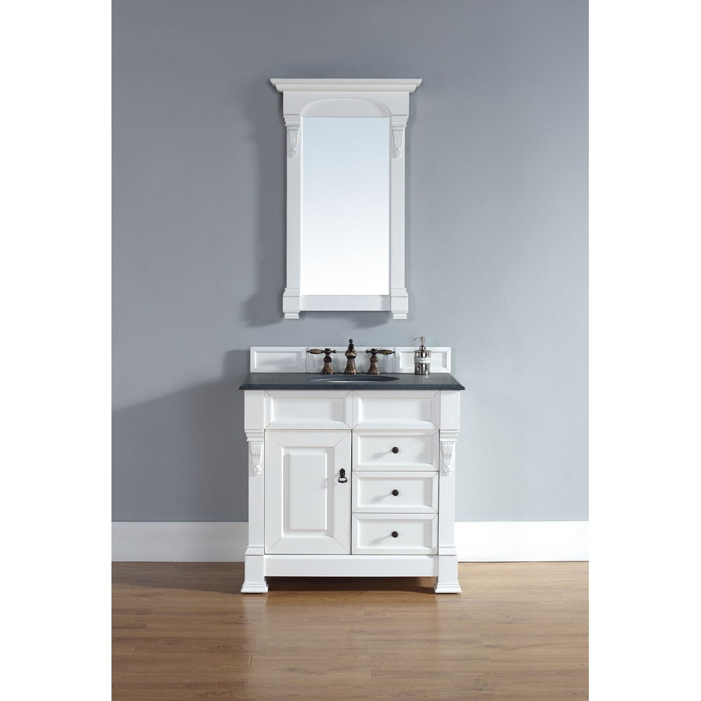 "James Martin 35"" Brookfield Single Vanity with drawers - Cottagenohtin Sale $840.00 SKU: 147-114-5546 :"