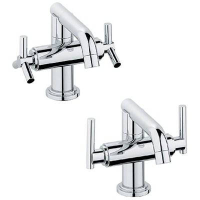 Grohe Atrio Low Spout Lavatory Centerset - Starlight Chromenohtin Sale $523.99 SKU: GRO 21031000 :