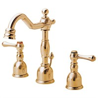 Danze® Opulence™ Widespread Lavatory Faucets - Polished Brass
