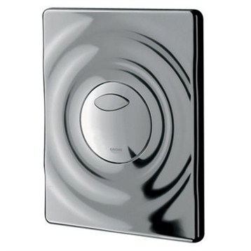 Grohe Surf Actuation Plate, Starlight Chrome by GROHE