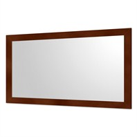"Accara Bathroom Mirror 58"" Coffee B400-58-COF"