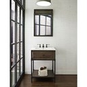 "Fairmont Designs 24"" Toledo Open Shelf Vanity - Driftwood Gray 1401-VH24"