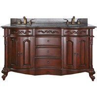 "Avanity Provence 61"" Double Bathroom Vanity - Antique Cherry PROVENCE-V60-AC"
