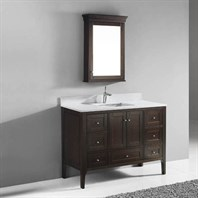 "Madeli Torino 48"" Bathroom Vanity - Walnut B973-48-001-WA"