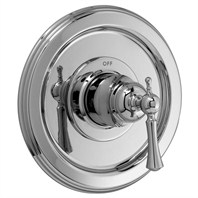 JADO Hatteras Pressure Balance Shower Valve Set Trim - Lever Handle