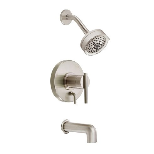 Danze Parma Trim Only Single Handle Tub & Shower Faucet - Brushed Nickelnohtin Sale $279.75 SKU: D512058BNT :