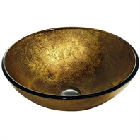 Vigo Liquid Gold Vessel Sink VG07026