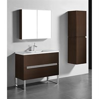 "Madeli Soho 42"" Bathroom Vanity for Integrated Basin - Walnut B400-42-001-WA"