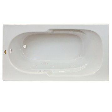 Jacuzzi Signature 6036 Drop In Rectangle Tub | Free Shipping   Modern  Bathroom