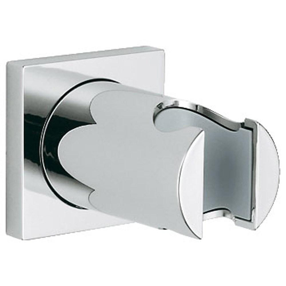 Grohe Rainshower Hand Shower Holder with Square Collar - Starlight Chromenohtin Sale $41.99 SKU: GRO 27075000 :