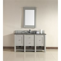 "James Martin 60"" Madison Single Vanity - Dove Gray 800-V60S-DVG"