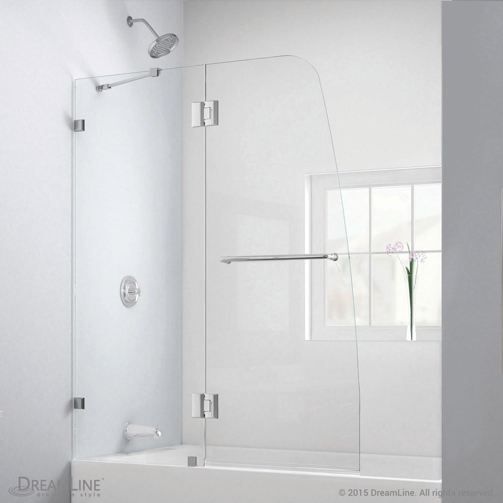Bath Authority DreamLine Aqua Lux Clear Glass Tub Door | Free ...