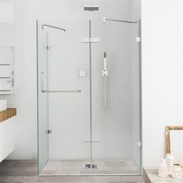 "Vigo Industries Frameless Rectangular Shower Enclosure, 36"" x 48"", Clear VG6011CL-36x48 by Vigo Industries"