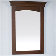 "Fairmont Designs 21"" Lifestyle Collection Shaker Mirror - Warm Cherry or Polar White"
