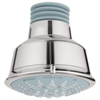Grohe Relexa Rustic Shower Head - Infinity Brushed Nickel
