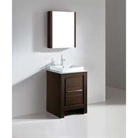 "Madeli Vicenza 24"" Bathroom Vanity - Walnut B999-24-001-WA"