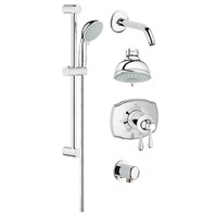 Grohe Grohflex Bath and Shower Set - Starlight Chrome GRO 35053000