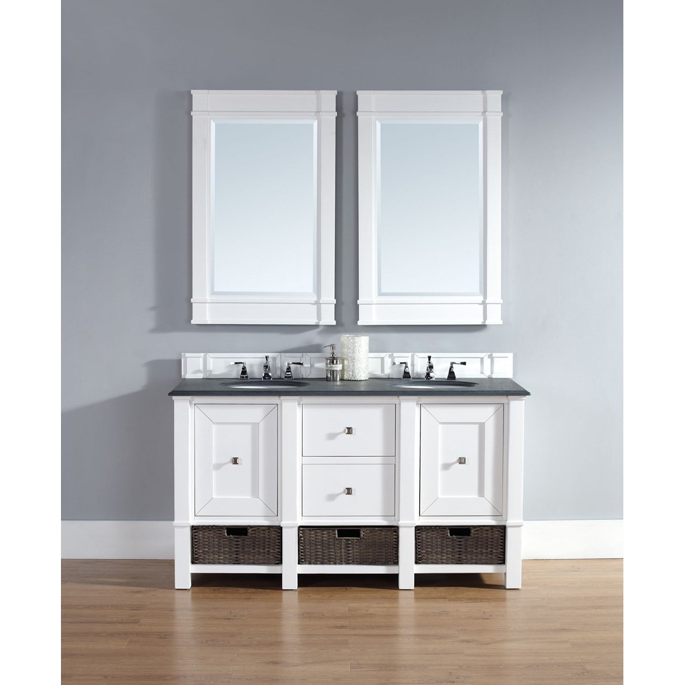 "James Martin 60"" Madison Double Vanity - Cottage Whitenohtin Sale $1530.00 SKU: 800-V60D-CWH :"