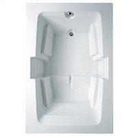 "Americh Forum 7248 End Drain Tub (72"" x 48"" x 22"") FO72ED"