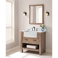 "Fairmont Designs Napa 36"" Farmhouse Vanity - Sonoma Sand 1507-FV36"