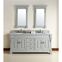 "James Martin 72"" Brookfield Double Cabinet Vanity - Urban Gray 147-114-5791"
