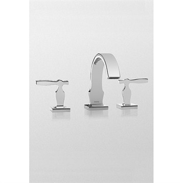 Toto Aimes Widespread Lavatory Faucet, Polished Chrome TL626DD.CP by Toto