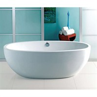 "Americh Contura II 6632 Tub (66"" x 32"" x 24"") CO6632"