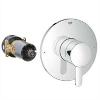 Grohe GrohFlex Cosmopolitan Single Function Pressure Balance Trim with Control Module - Starlight Chrome GRO 19880000