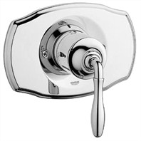 Grohe Seabury Pressure Balance Valve Trim with Lever Handle - Starlight Chrome