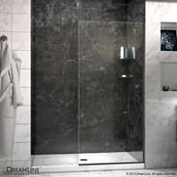 "Bath Authority DreamLine Linea Frameless Shower Door Panel (30"" x 72"") SHDR-3230721"