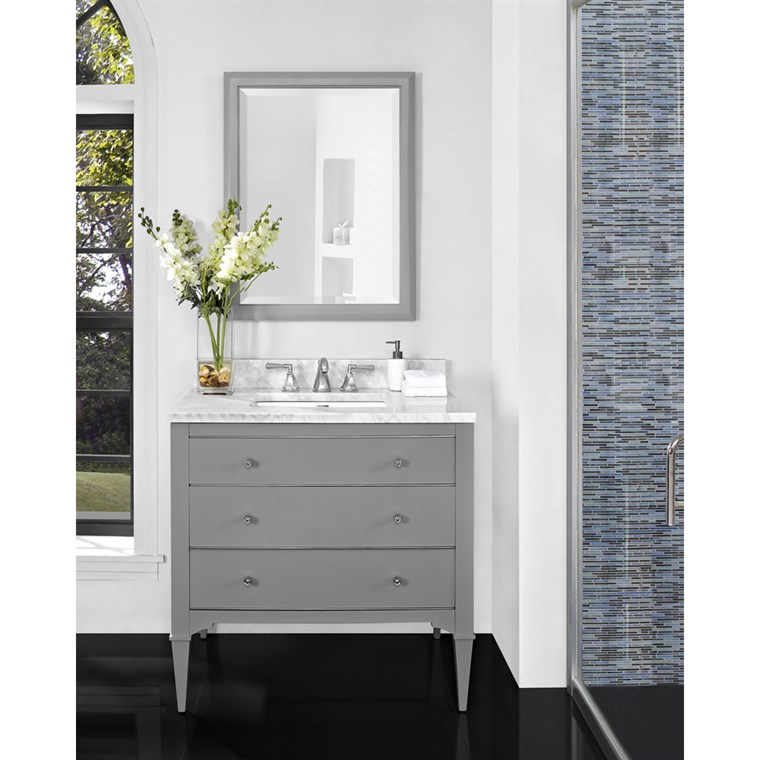 "Fairmont Designs Charlottesville 36"" Vanity - Light Gray 1510-V36"