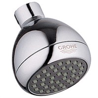 Grohe Relexa Non-Adjustable Shower Head - Starlight Chrome