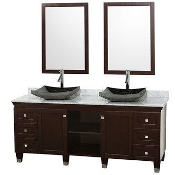 Premiere 72 bathroom double vanity set by wyndham collection espresso free shipping Premiere bathroom design reviews