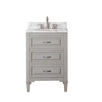"""Avanity Kelly 24"""" Single Bathroom Vanity with Countertop, Grayish Blue KELLY-24-GB by Avanity"""