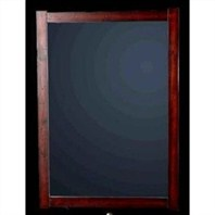 "Elizabeth Bathroom Mirror - Cherry or White (26"" x 38"")"