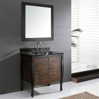 "Avanity Venisia 31"" Single Bathroom Vanity - Black/Ebony VENISIA-V30-BK"