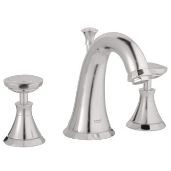 Grohe Kensington Lavatory Wideset, Infinity Brushed Nickel by GROHE