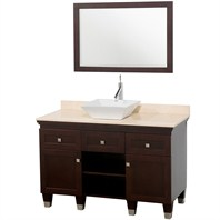 "Premiere 48"" Bathroom Vanity Set by Wyndham Collection - Espresso WC-CG5000-48-ESP"