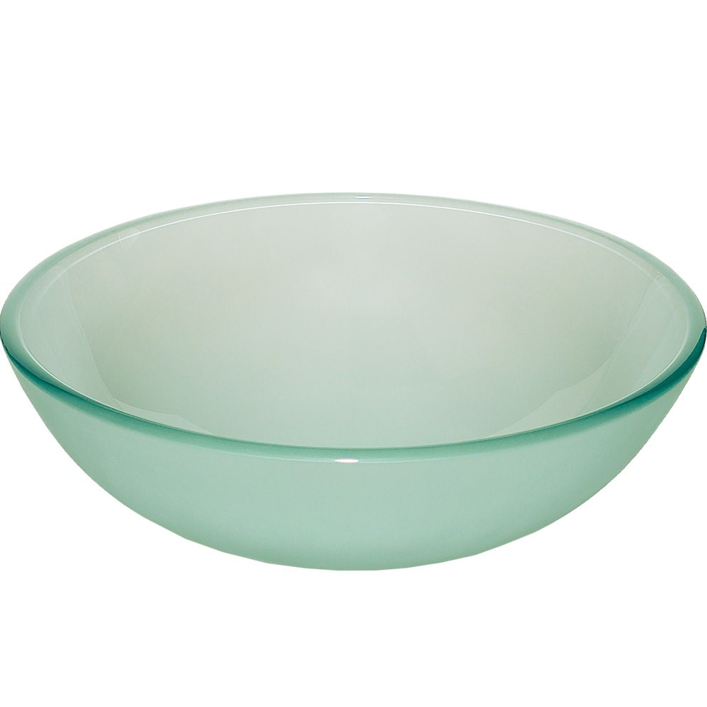 Glass Vessel Sink - Frostnohtin Sale $99.95 SKU: B007FROST :