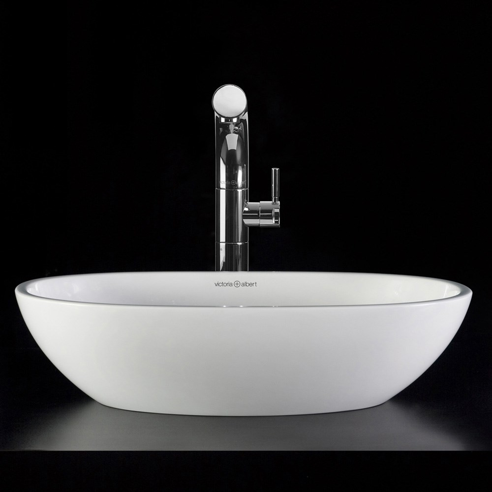Barcelona 48 Vessel Sink By Victoria And Albert Free Shipping Modern Bathroom