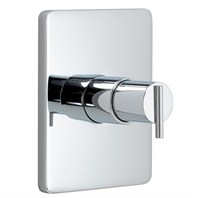 JADO Glance Pressure Balance Shower Valve Set - Lever Handle