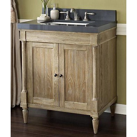 Fairmont Designs Rustic Chic 30 Vanity Weathered Oak Free